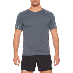 2XU Xvent G2 Chemise manches courtes Homme, turbulence/silver reflective